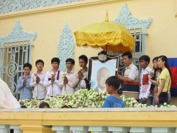 Feierlichkeiten Phnom Penh