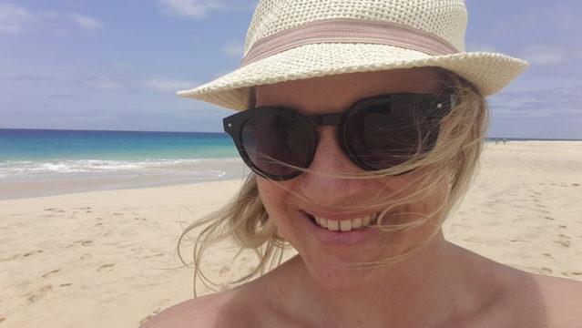Janine auf den Kapverden