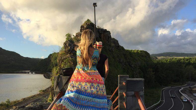 Influencer-Shooting am Maconde Aussichtspunkt