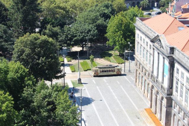nostalgische Straßenbahn