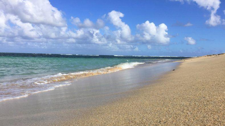 Beach please.