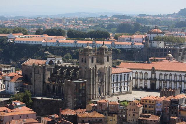 Vom Torre dos Clerigos fotografiert: Die Sé