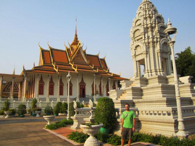 Die Silberpagode in Phnom Penh