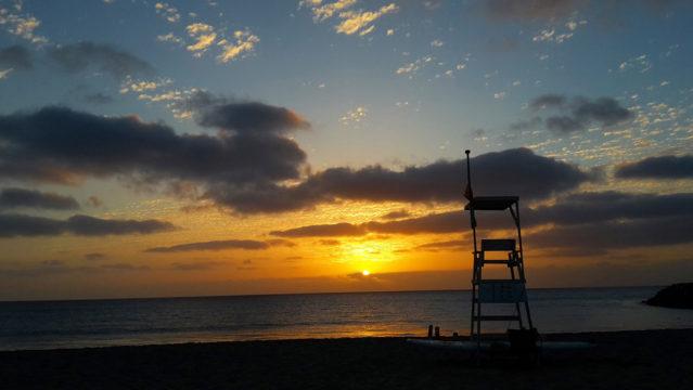 Sonnenuntergang Kapverden