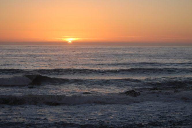 Einfach den Moment genießen: Der Sonnenuntergang in Miramar