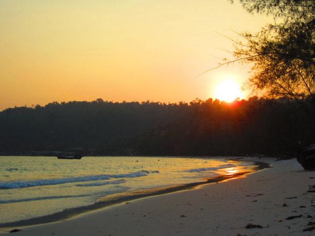 In der beschaulichen Siedlung am Tui-Beach kommt innerhalb von Sekunden Urlaubsfeeling auf
