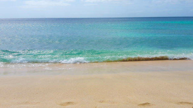 Strand Insel Sal