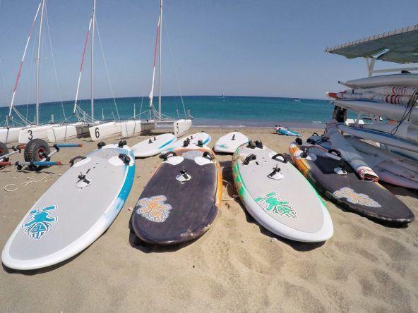 Surfen könnt ihr hier natürlich auch