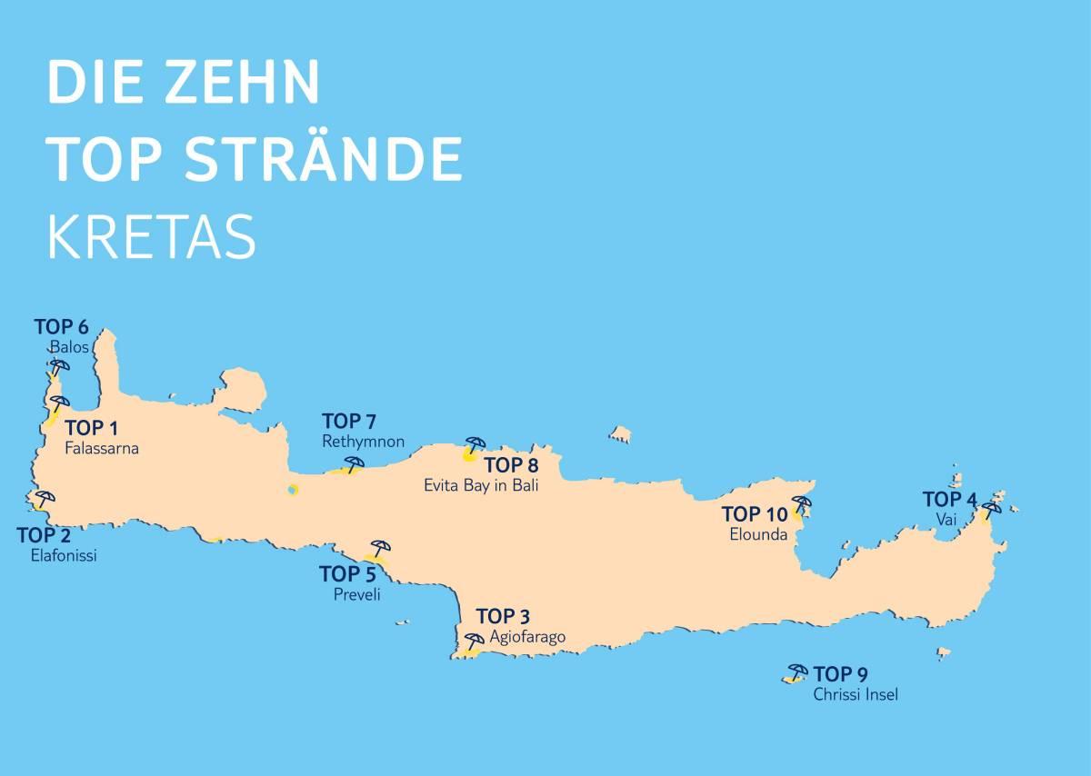 Top 10 Kreta Strände