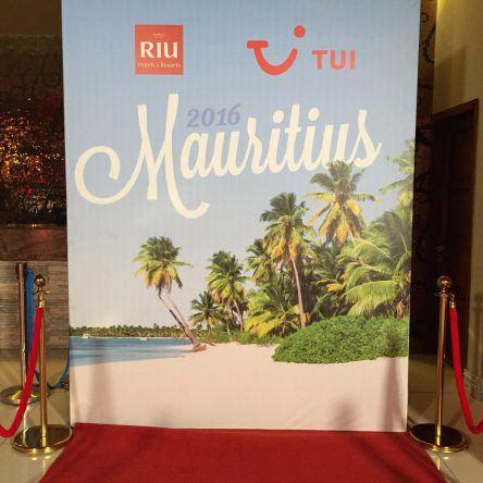 TUI Programmpräsentation auf Mauritius