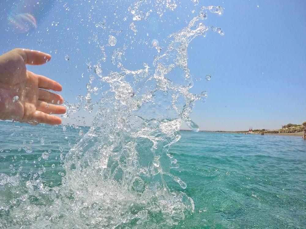 Wasserspaß im traumhaft schönen Meer