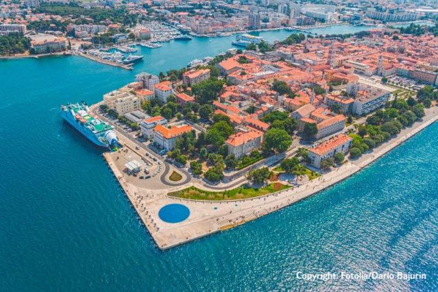 Zadar (Copyright: Fotolia/Dario Bajurin)