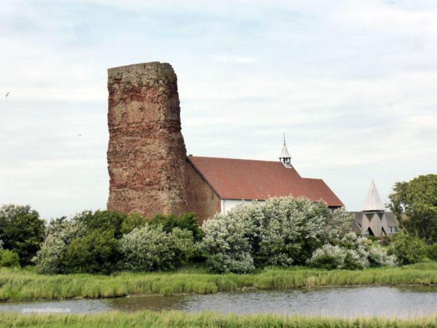 Alte Kirche, ein Wahrzeichen von Pellworm