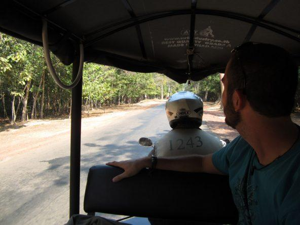 An zweiten Tag bevorzugen wir dann doch die entspanntere Tuktuk-Variante