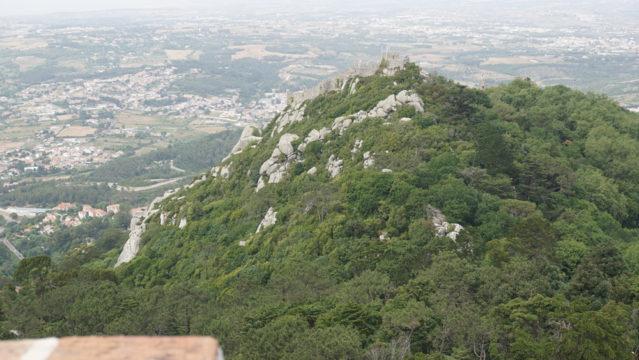 Der anstrengende Weg zum Castelo dos Mouros lohnt sich!