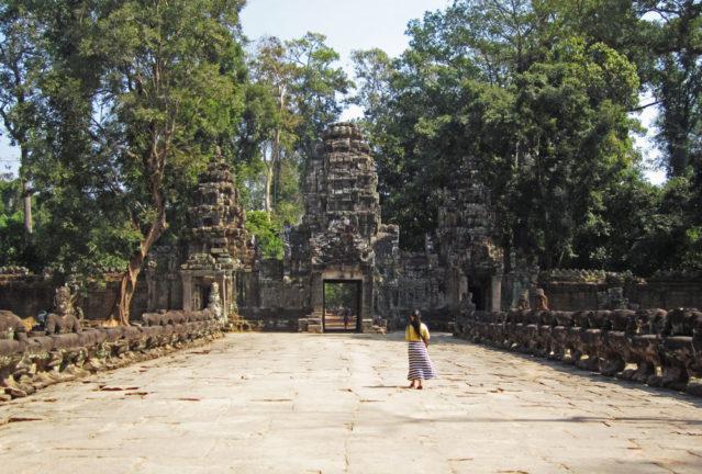 Einige Teile von Preah Khan wurden vollständig restauriert oder gar rekonstruiert