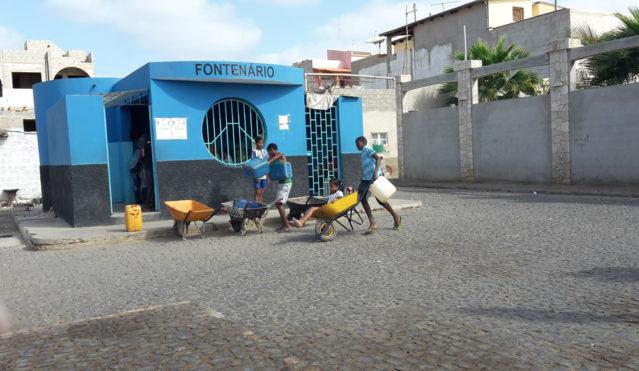 Fontenario auf der Insel Sal