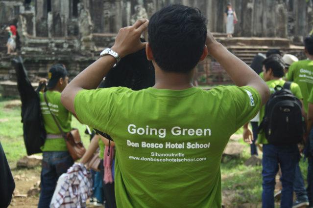 "Wird mit vollem Stolz getragen: Das ""Going Green"" Shirt"