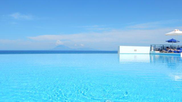 Pool des Grecotel Olympia Riviera Thalasso