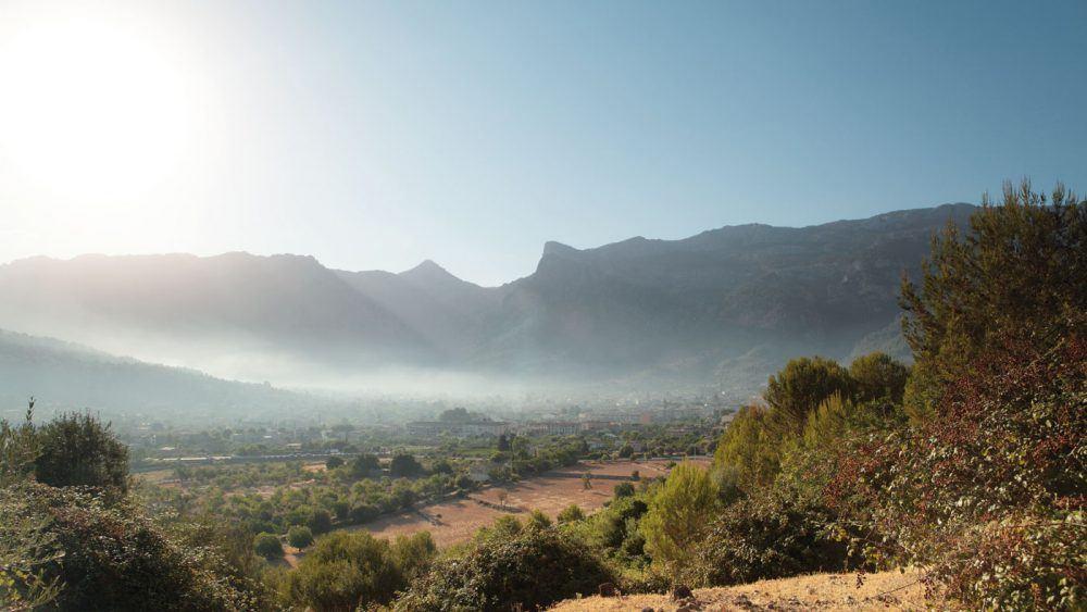 Wunderschöne Naturlandschaft in Sóller auf Mallorca