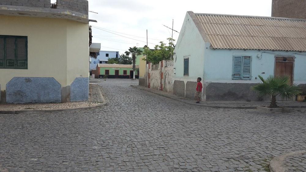 Kleine Stadt auf der Insel Sal: Palmeira