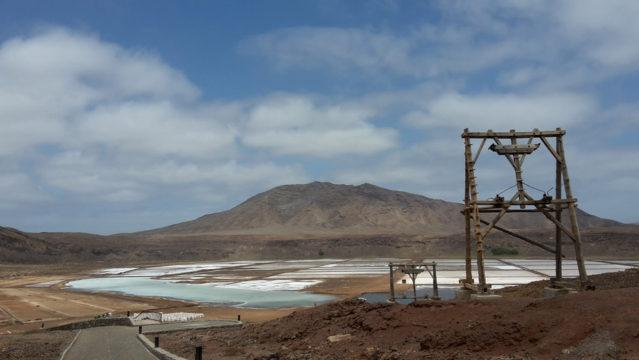 Die Salzgewinnungsanlage Pedra de Lume
