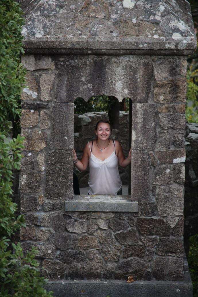 Da fühle ich mich ein bisschen wie Rapunzel, hier auf dem Anwesen der Quinta da Regaleira