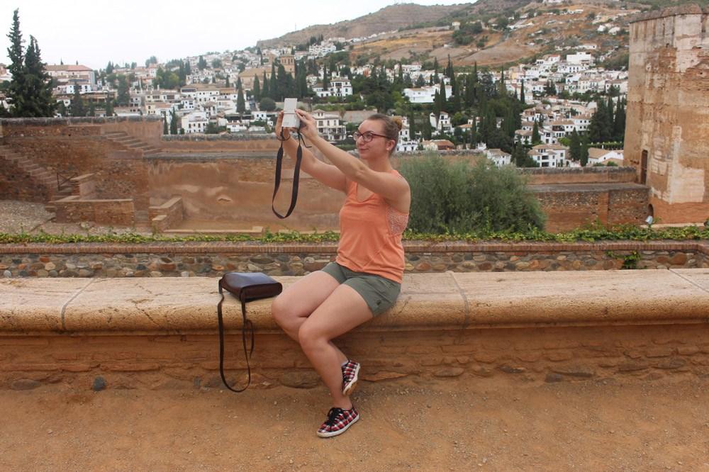 Selfietime in Alhambra
