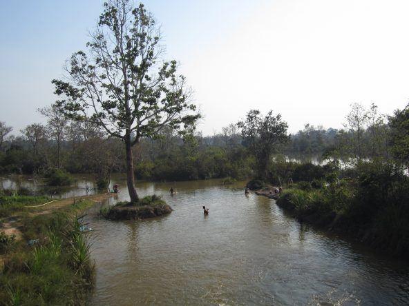 Am dritten Tag fahren wir zu den weiter entfernten Tempeln Angkors