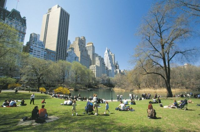 Top Drehort: New York Central Park