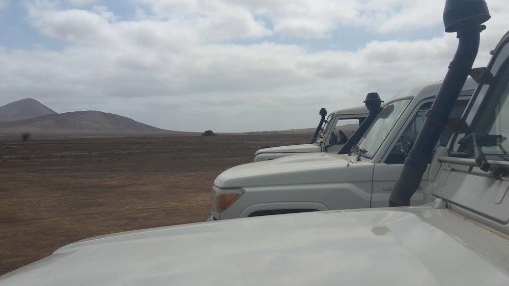 Unsere Jeeps in der Terra Boa