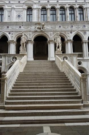 Venedig: Scala dei Giganti, Dogenpalast