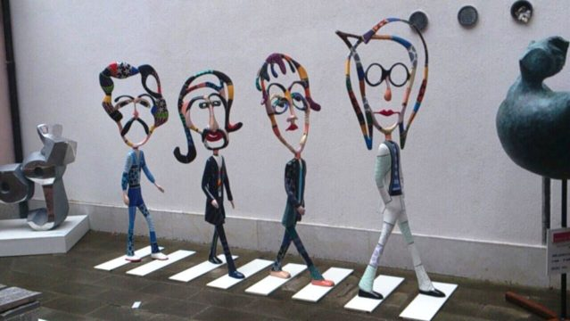 Venedig: Galeria Bel Air fin Art, Die Beatles