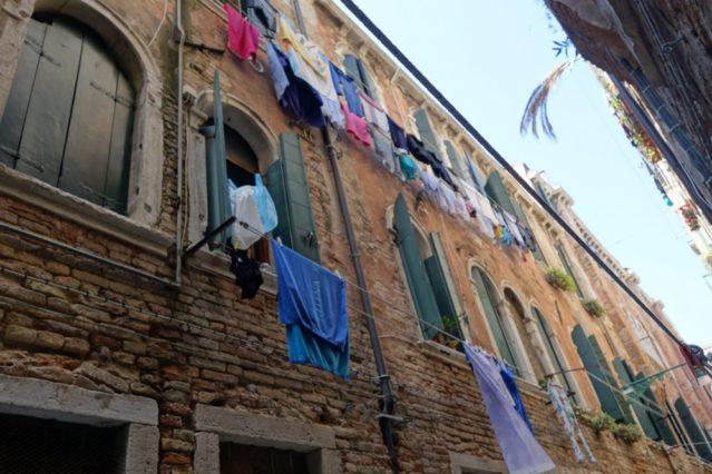 Venedig Waschtag