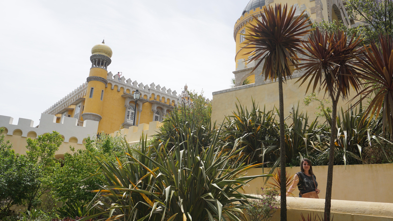 Yasemin im Palácio Nacional da Pena