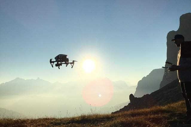 Drohnenaufnahme