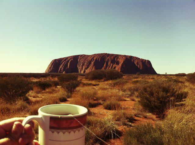 Das Wahrzeichen Australiens: Der Ayers Rock