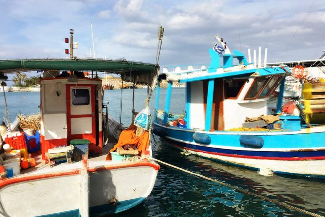 Boote auf Kos