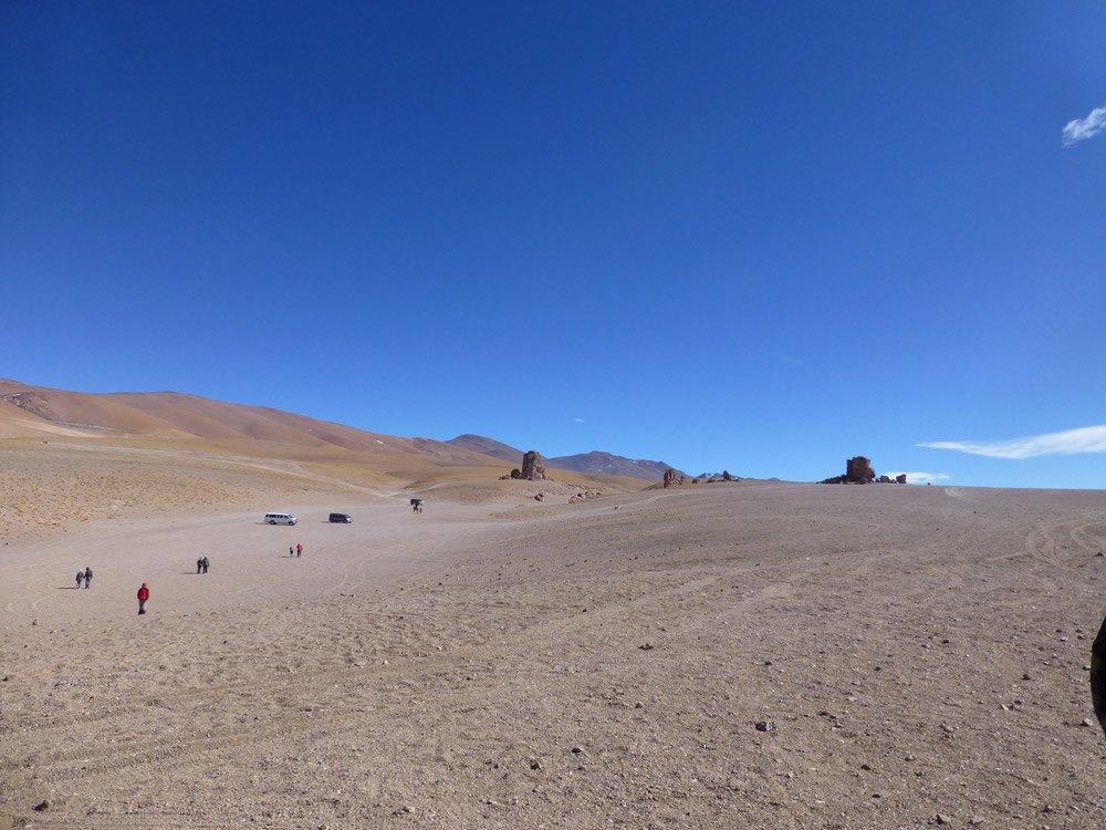 Auf dem Weg zur Salar de Tara in Chile