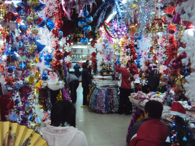 Christmas Shopping China