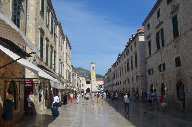 Die schöne Altstadt Dubrovniks