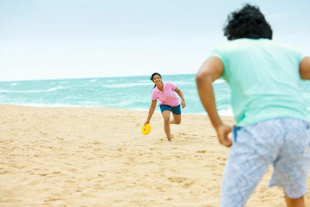 Frisbee bringt gute Laune und viel Bewegung!
