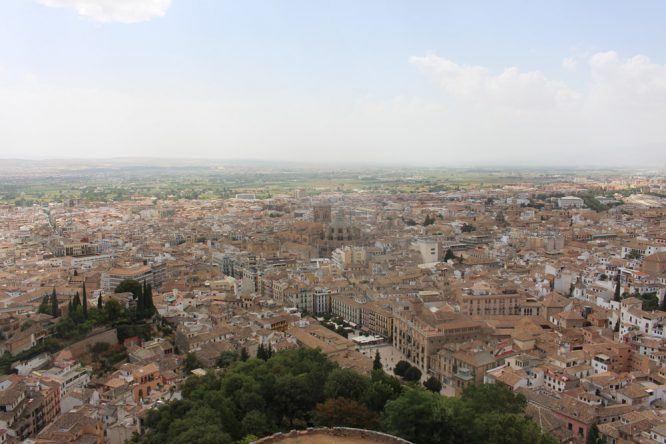 Vom Torre de la Vela habt ihr den besten Ausblick!