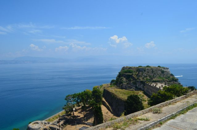 Grünes Korfu
