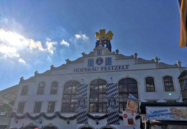Das Hofbräu-Festzelt