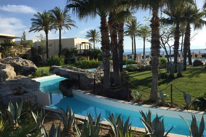 Die Poollandschaft des Hotel Michelangelo