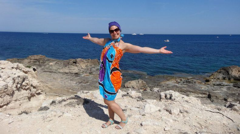 Caro auf Ibiza