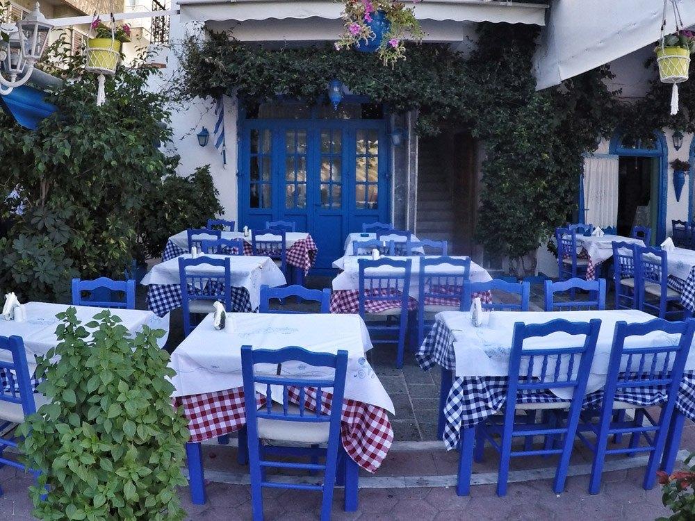 Meine Empfehlung an diejenigen, die mal kein Ouzo wollen: Der Italian Garden in der Altstadt von Kos
