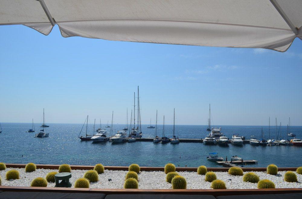 Hafen auf Korfu