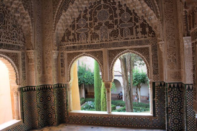 Im Garten des Palacio Nazaries